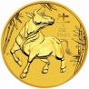 Lunar Ox 1 oz 2021, Gold