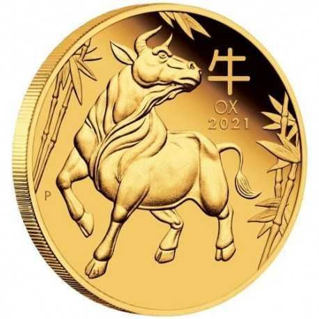 Lunar OX 2 oz 2021 Gold Coin