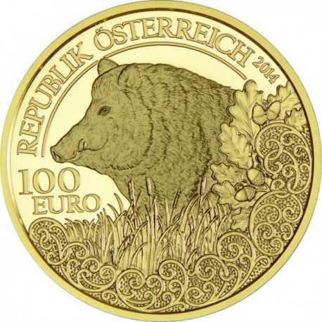 Austrian The Boar 1/2 oz 2014