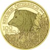 Wildlife Austrian The Boar 1/2 oz 2014 Gold