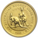 Nugget / Kangaroo, 1/10 oz Gold, 1998