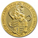 Queen's Beasts Lion, 1/4 oz. Gold, 2016