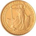 Britannia 1/4 oz mixed years gold coin