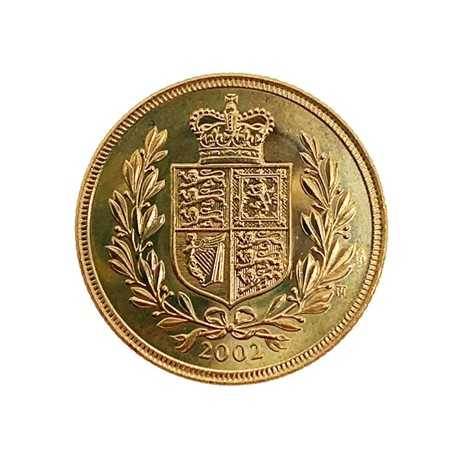 Full Sovereign Elizabeth II 2002
