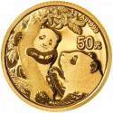 China Panda 3 gr 2021 Gold