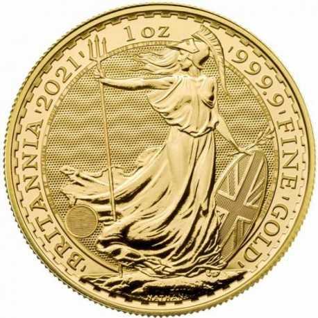 Britannia 1 oz 2021 Gold