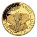 Somalia Elephant 1oz 2021