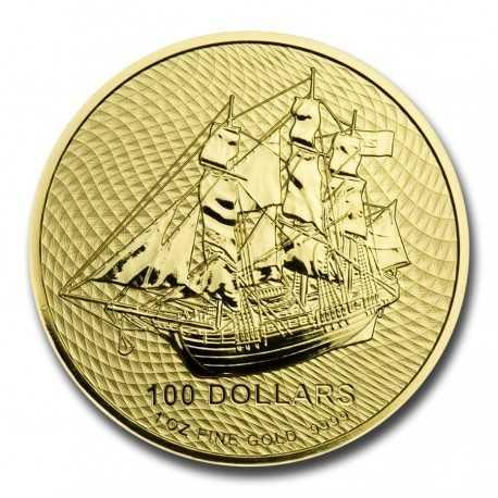 Cook Islands Bounty 1/10 oz 2020 Gold