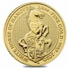 Queen's Beasts White Horse 1/4 oz 2021 Gold
