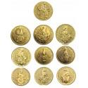 Queen's Beasts Set  1/4 oz  8 coins Gold