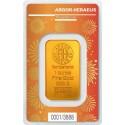 1 oz Gold Bar Argor Hereaus Lunar OX