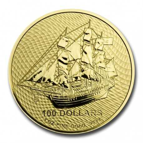 Cook Islands Bounty 1/10 oz 2020 Gold