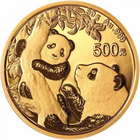 China Panda 30 gr 2021 Gold