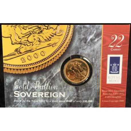 Gold Sovereign 2000