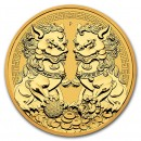 Australia Double Pixiu 1 oz 2021 Gold
