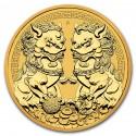 Australia Double Pixiu 1 oz 2021 Gold