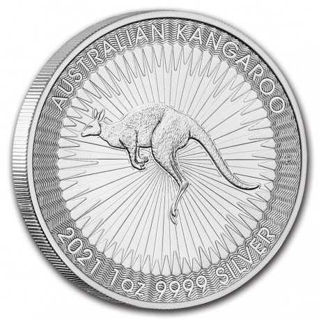 Australian Kangaroo 1 Dollar 1 oz Silver 2020