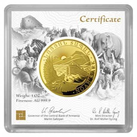 1 ounce gold coin Noahs Ark 2021