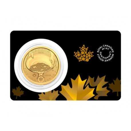 Klondike Gold Rush gold coin 1 oz 2021