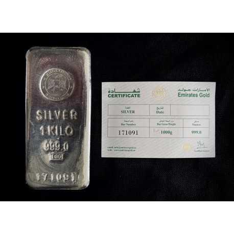 Silver Bar 1 kilo