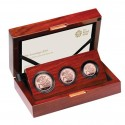Gold Coin Premium Three Coin Gold Sovereighn 2019 Proof