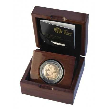 Gold Coin Sovereign 1/4 oz 2015 Proof First Edition Proof