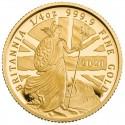 Great Britain Britannia 1/4 oz Gold 2020 Proof