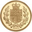 Gold Coin Sovereighn 1/4 oz 2007 Proof