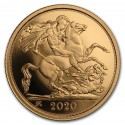 Gold Coin Sovereign 1/4 oz 2020 Proof