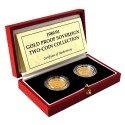 Gold Coin Sovereign Set of two coins 1989-1991
