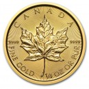 Maple Leaf, 10 Dollar, 1/4oz Gold, 2015