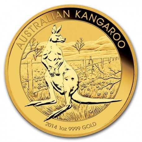 Nugget / Kangaroo, 1oz Gold, 2014