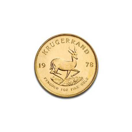 Krugerrand, 1oz Gold, mixed years