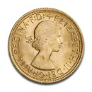 Full Sovereign Elizabeth, Gold, 1957- present