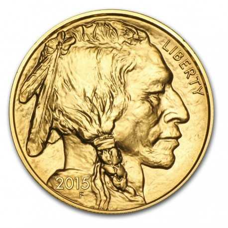 Buffalo, 1oz Gold, 2015