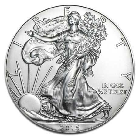 American Eagle, 1 Dollar, 1oz Silver, 2015