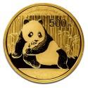 China Panda, 500 Yuan, 1oz Gold ,2015