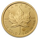 Canadian Maple Leaf  1 oz mix years Gold