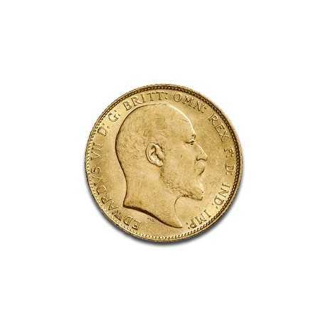 Full Sovereign Edward VII, Gold,  1902-1910
