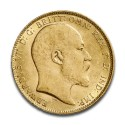 Full Sovereign Edward VII, Gold,  1902-1910