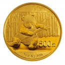 China Panda, 500 Yuan 1oz Gold, 2014