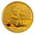 China Panda, 500 Yuan 1oz Gold, 2014