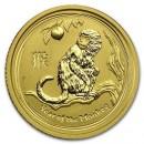 Lunar Monkey, 1/10oz Gold, 2016