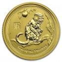 Lunar Monkey, 1/10 oz Gold, 2016