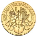 Austrian Vienna Philharmonic 1 oz Gold, mixed years