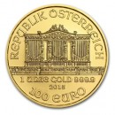 Austrian Vienna Philharmonic 1oz Gold, mixed years
