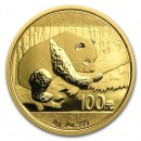 China Panda Gold Coin 8 g., 2016