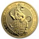 Queen's Beasts Lion, 1 oz. Gold,  2016