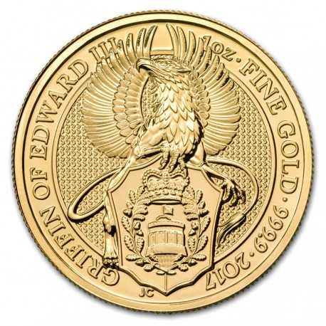 Queen's Beasts Griffin, 1 oz. Gold, 2017