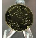 Archiepiskop Makarios 1/2 oz Gold 1977 Cyprus (Макариос)
